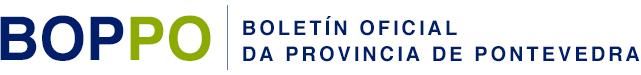 Logo do portal do boletín da provincia de Pontevedra